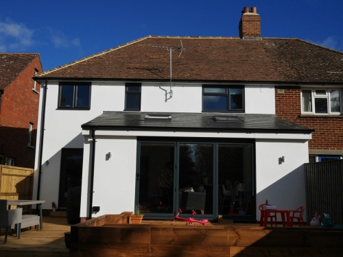 Extension/Facelift - After