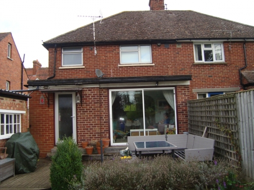 Extension/Facelift - Before